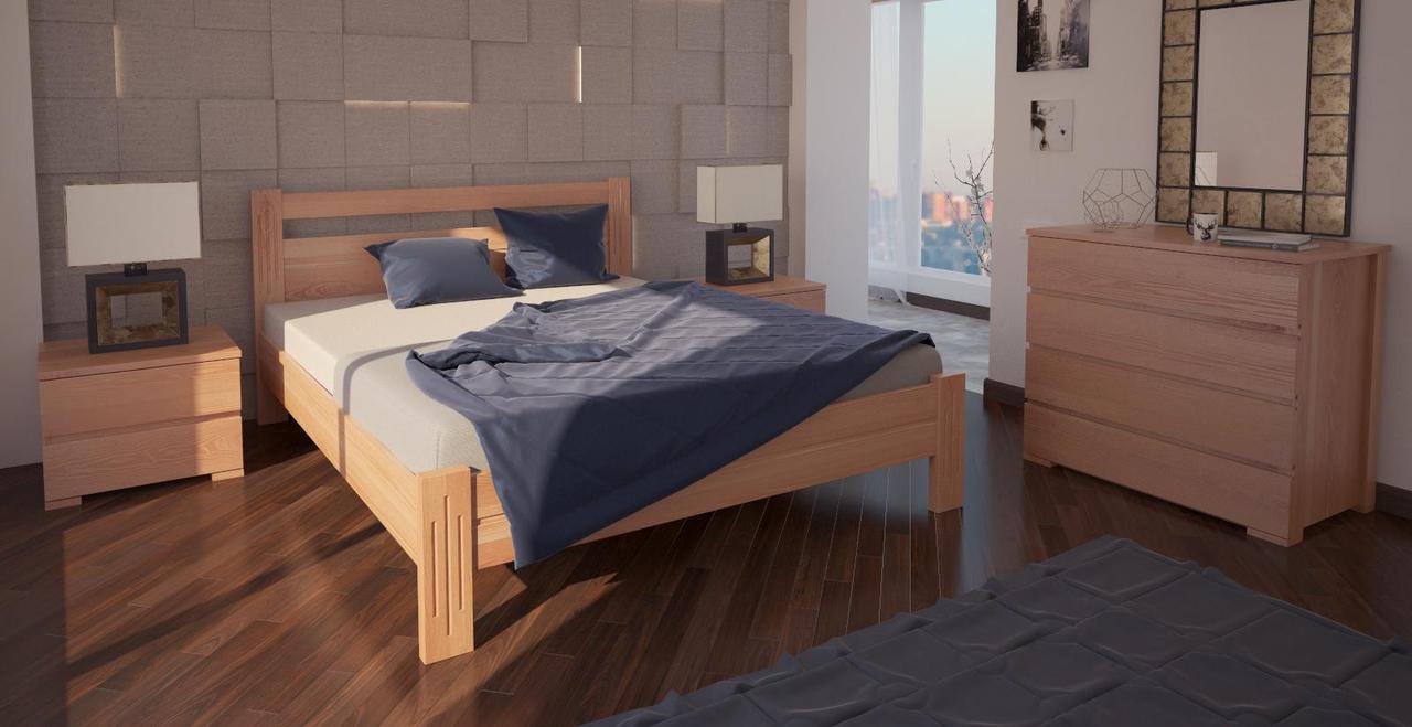 Кровать односпальная в детскую/спальню ХМФ Вена (90*190)