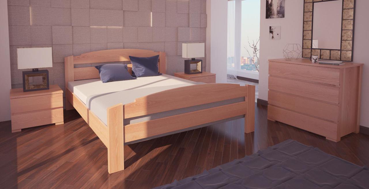Кровать односпальная в детскую/спальню ХМФ Гавана (90*190)