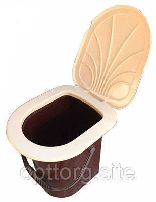 Ведро-туалет (биотуалет) 17 л Консенсус