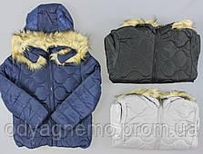 Курточка на хутрі для дівчаток Glo-Story оптом, 134/140-170 рр.
