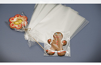 Пакет полипропиленовыйдля кондитерских изделий Упаковка пакеты для пряника (50шт) 10*15