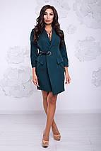 Женское деловое платье на запах (Карина lzn), фото 3