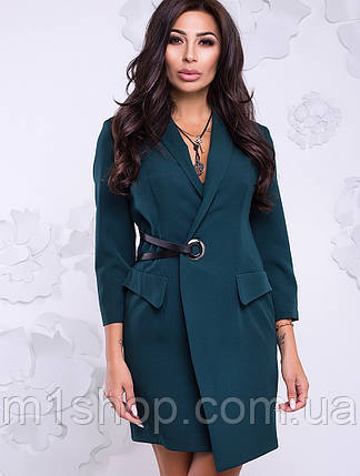 Женское деловое платье на запах (Карина lzn), фото 2