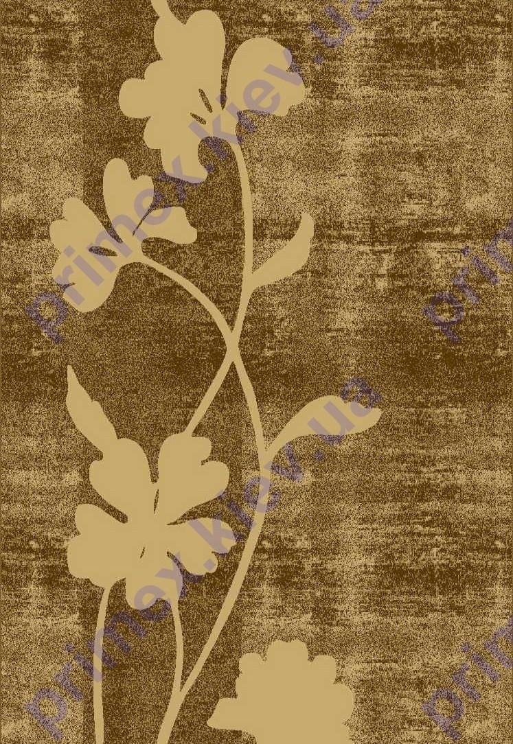 """Коврик Флорида """"цветок василек"""" цвет светло-бежевый. Ковер купить киев недорого"""