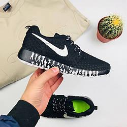 "Женские кроссовки Nike Roshe Run Dance ""Black"" (люкс копия)"
