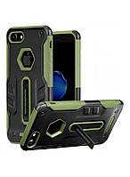 Чехол-накладка NILLKIN iPhone 7 - Defender 4 (Black/Green)