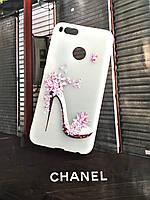 Чехол-накладка YoToo Soft Touch со стразами Huawei Y3 2017 (Туфель)