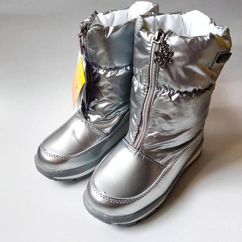 7a1000a7c58de5 Зимние супер теплые сапоги - дутики на девочку серебро Том.м 27-32:  продажа, цена в Одессе. зимняя детская и подростковая обувь от