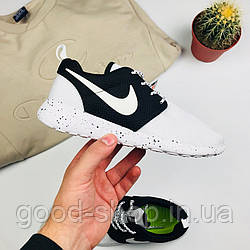 "Женские кроссовки Nike Roshe Run One ""White/Black"" (люкс копия)"