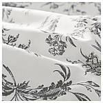 IKEA ALVINEKVIST Комплект постельного белья, белый, серый  (101.596.31), фото 2