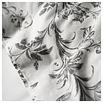 IKEA ALVINEKVIST Комплект постельного белья, белый, серый  (101.596.31), фото 4