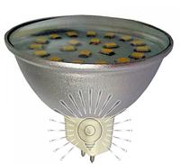 Светодиодная лампа MR16 4Вт 4500К LM319, фото 1