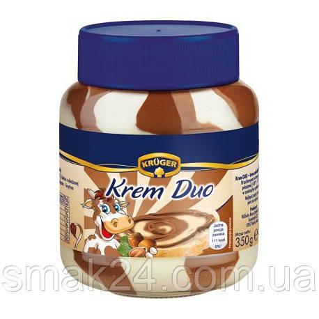 Шоколадно молочный крем (паста) Duo (Дуэт) Германия 350г