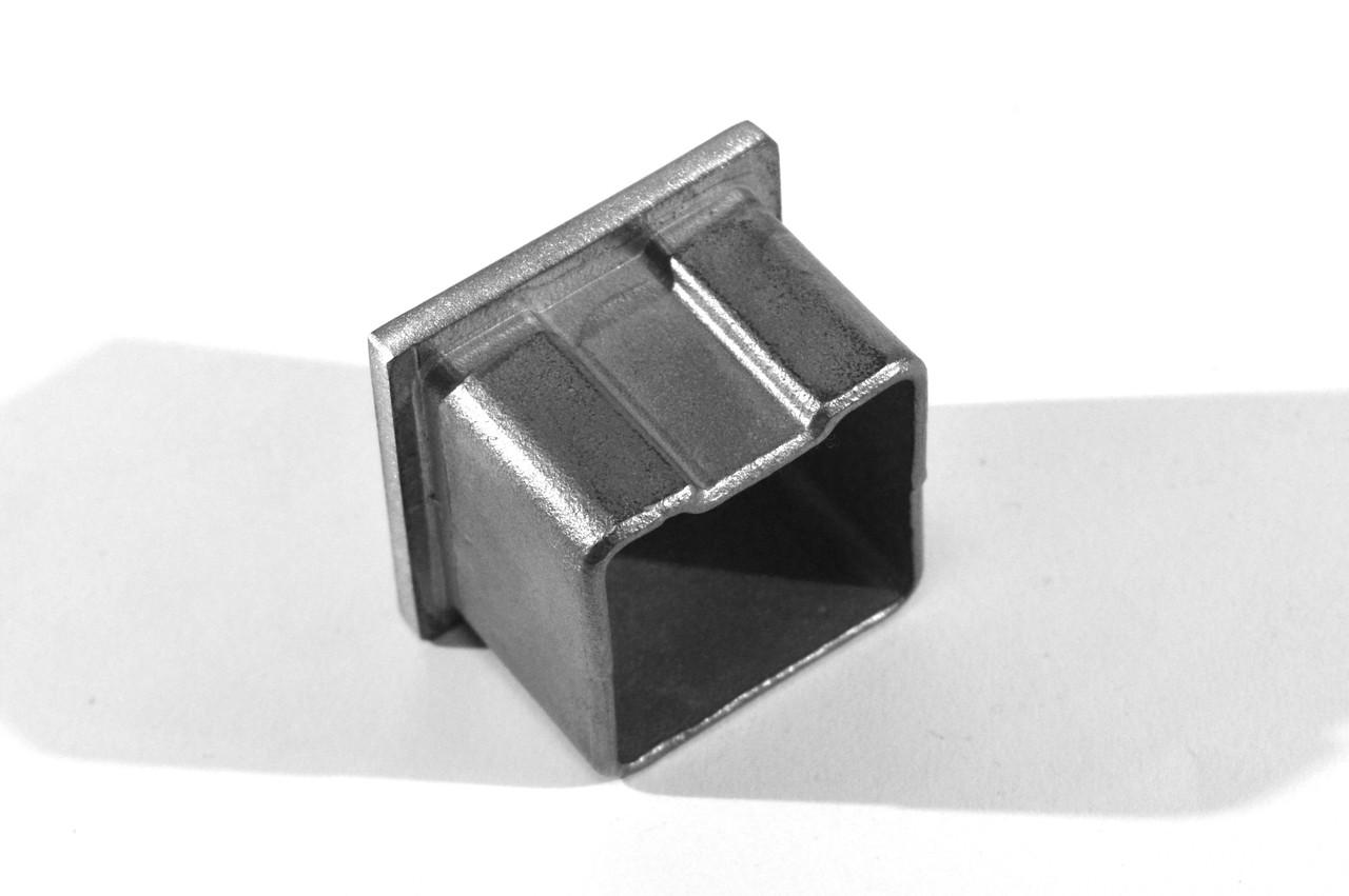 KLC-10-03-01  Заглушка для квадратного поручня 40*40 мм
