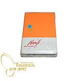 Комплект постельного белья махра+бязь полуторный, оранжевый, фото 2