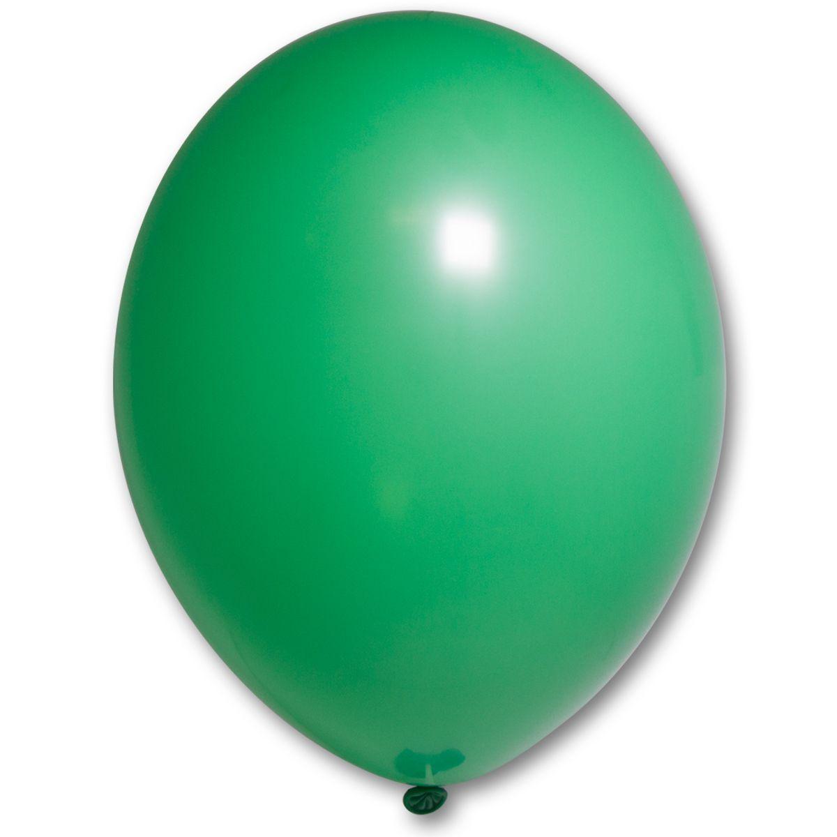 """Воздушные шары 10,5"""" пастель ярко-зелёные 50 шт Belbal (Бельгия)"""