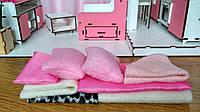 Набор текстиля для домика Барби