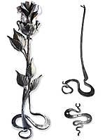 Кованая розанаподставке