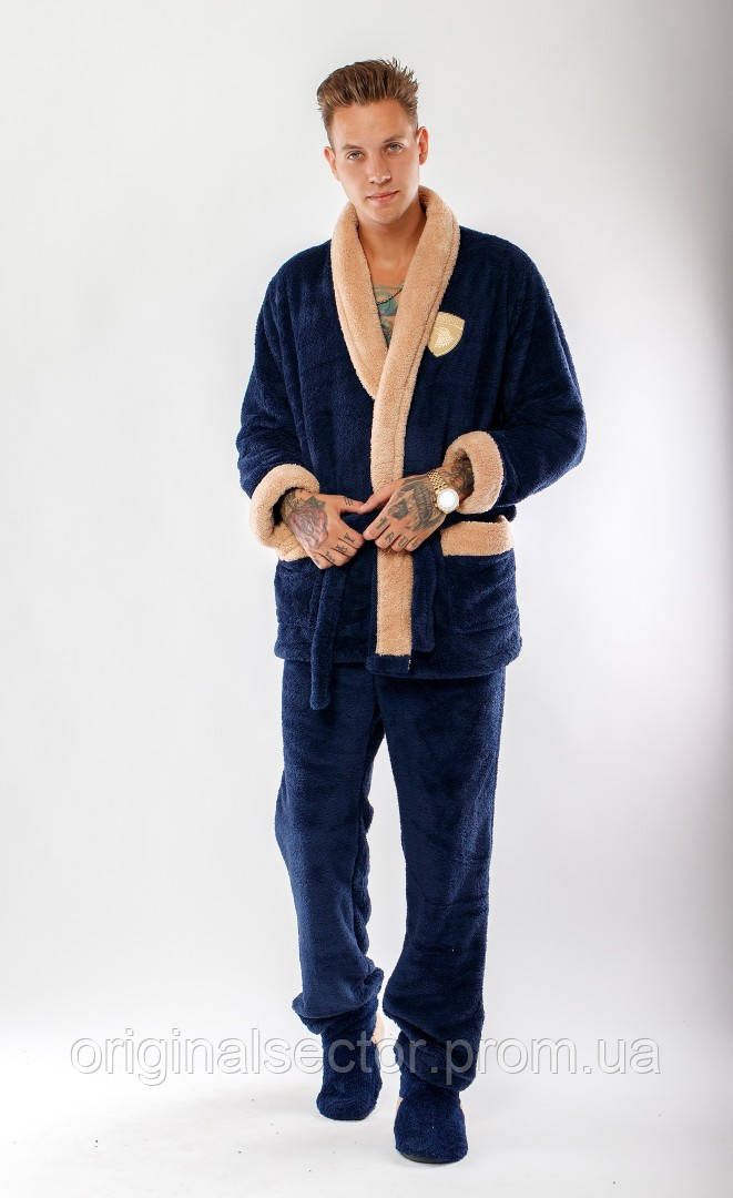 c41299b4b2e Мужской теплый домашний костюм - интернет-магазин