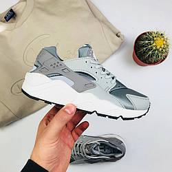 """Мужские кроссовки Nike Air Huarache """"Gray"""" (люкс копия)"""