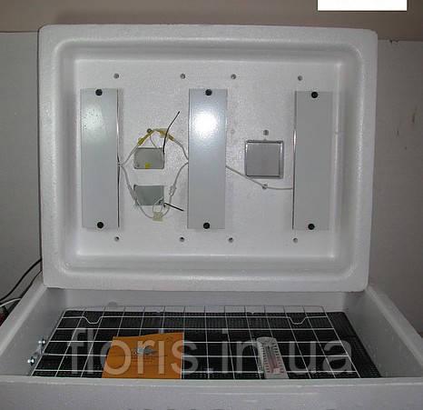 Инкубатор Несушка на 104 яйца с автоматическим переворотом и резервным питанием