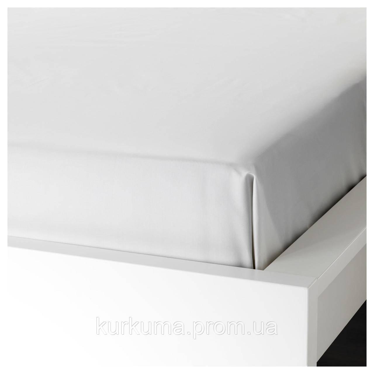 IKEA SOMNTUTA Простыня, белый  (103.145.14)