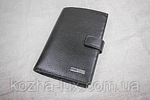Мужское кожаное портмоне с отделом для документов, Турция, фото 3