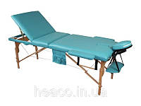 Деревянный 3-х сегментный стол для массажа FIT (Польша)