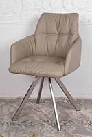 Кресло поворотное LEON бежевое Nicolas