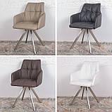 Кресло поворотное LEON белый (бесплатная доставка), фото 5