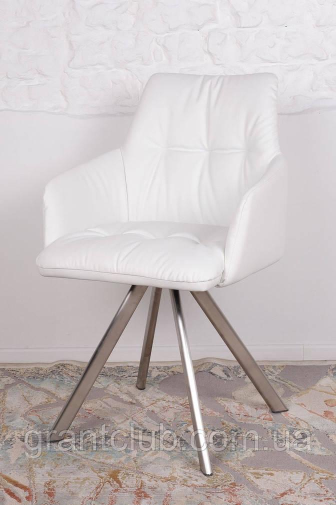 Кресло поворотное LEON белый (бесплатная доставка)