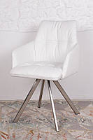 Кресло поворотное LEON белый Nicolas