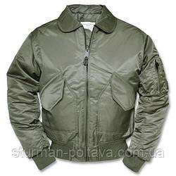 Куртка  мужская лётная  демисизоная  CWU-45 SWAT B15 цвет олива  Mil-Tec Германия