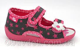 Тапочки-босоножки для девочек Renbut  25 (16 см)