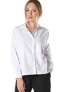 Женская белая рубашка Вифиния