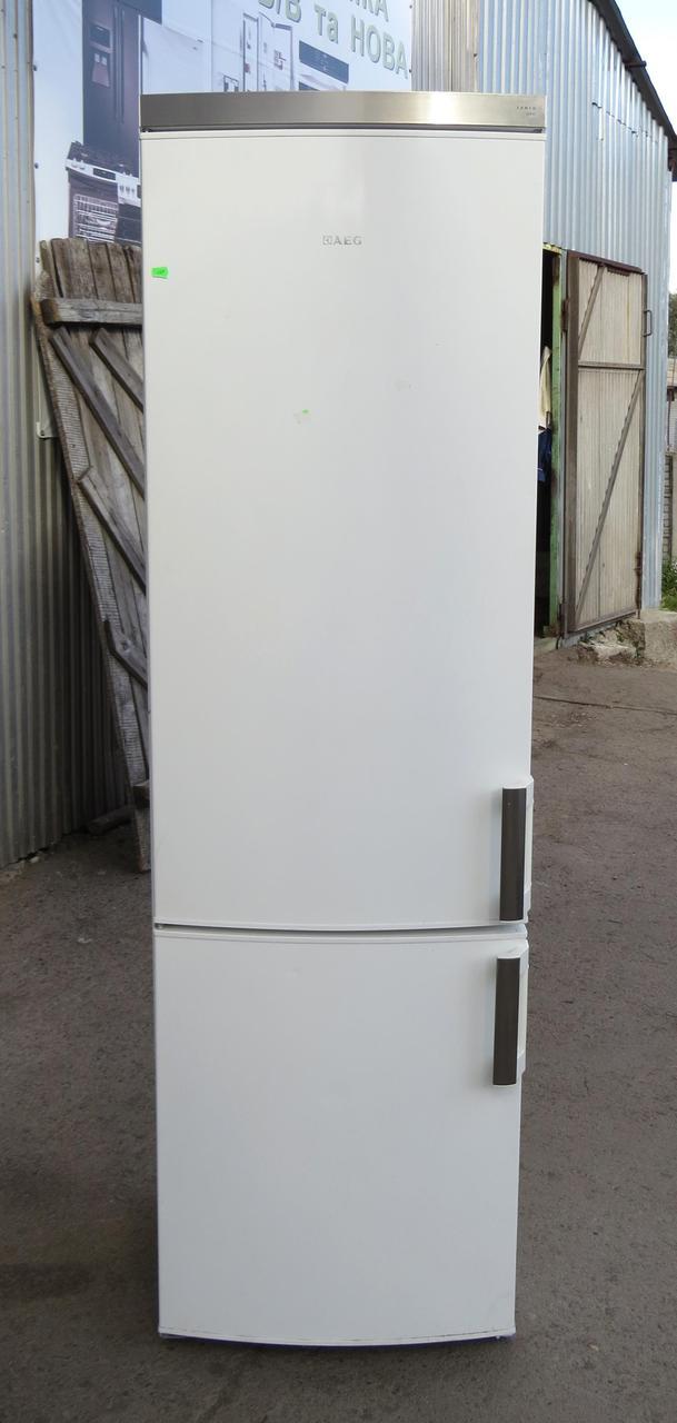 Холодильник AEG Electrolux S54000CSW1 (Код:1603) Состояние: Б/У