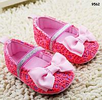 Пинетки-туфли для девочки.  12 см, фото 1