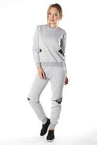 Спортивный женский костюм Эрида серый