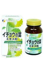 Гингко билоба и чеснок концентрат 400шт.  Япония