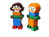 Модульный набор KIDIGO Друзья 12 деталей (JxXG95710)