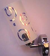 Бра настенный светильник (Хром)