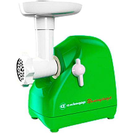 Мясорубка электрическая Белвар КЕМ-П2У (модель 302-07 зеленый), фото 2