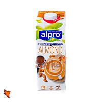 Миндальное молоко 1л, напиток миндальный, Alpro Almond for Professionals, Алпро