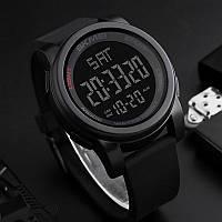 Skmei 1257 Черные мужские спортивные часы