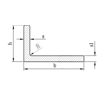 Алюминиевый уголок Без покрытия, 100х40х4 мм