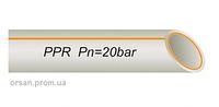Труба Fiber 63х10,5 мм армированная стекловолокном полипропилен VS Plast