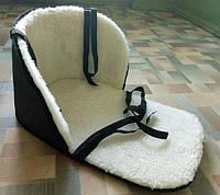 Детские меховые матрасики на санки и чехлы