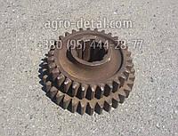 Шестерня промежуточная 74.37.433-1А Z=30 и Z=34 тракторной коробки перемены передач КПП трактора Т 74 ХТЗ, фото 1