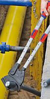 Резак для кабелей трещоточный Книпекс