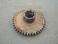 Шестерня 75.37.161-1, Z=42 тракторной коробки перемены передач КПП трактора Т 74 ХТЗ, фото 1